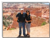 Bryan and Ana Burrell have a broad knowledge of little known places of Utah. They are anxious to share information about the Paiute Trail of Utah.